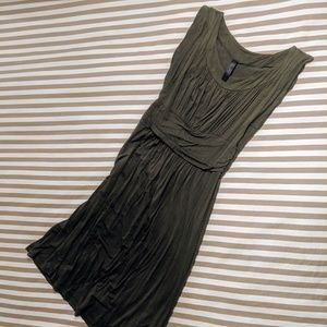 Modcloth Olive Green Dress Small